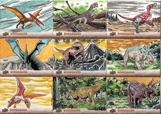 2015-Upper-Deck-Dinosaurs-Sketch-Cards-Rustico