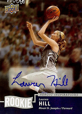 Lauren Hill's Upper Deck Heroic Inspirations Rookie Card is more than Just a Trading Card