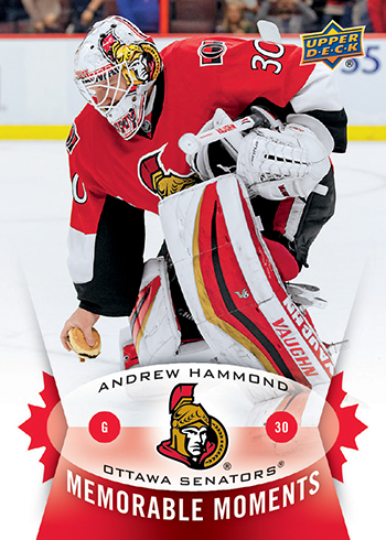 2014-15-NHL-Upper-Deck-Memorable-Moments-Andrew-Hammond-Cheeseburger-Hamburglar-Card