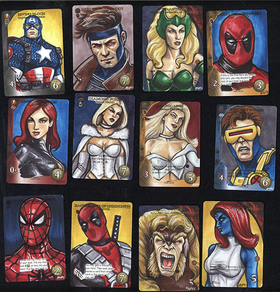 2015-Upper-Deck-Marvel-3D-Legendary-Sketch-Card-Ashleigh-Popplewell
