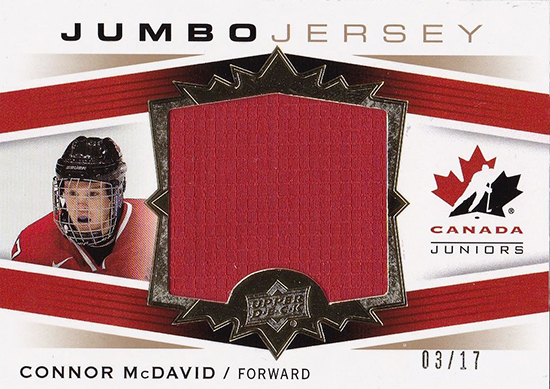 Connor-McDavid-2014-15-Upper-Deck-Team-Canada-Jersey