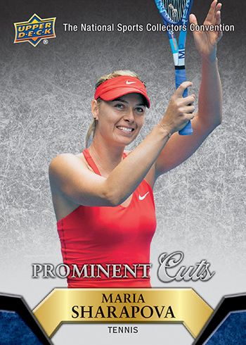 2015-Upper-Deck-National-Sports-Collectors-Convention-Prominent-Cuts-Sharapova