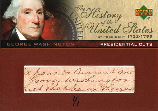Beckett-Auctions-May-history-united-states-america-presidential-cut-autograph-george-washington
