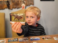 Two Young Boys Review Upper Deck's New Dinosaurs Trading Cards