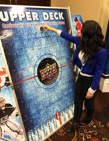 2015-NHL-Draft-Upper-Deck-Puck-o-plinko-prize-sunrise-florida