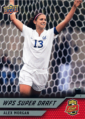 World-Cup-2011-Upper-Deck-WPS-Super-Draft-Rookie-Card-Team-USA-Womens-Soccer-Futbol-Alex-Morgan