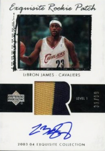 top-ten-best-03-04-lebron-james-king-chosen-one-rookie-autograph-cards-upper-deck-ud-exquisite-collection