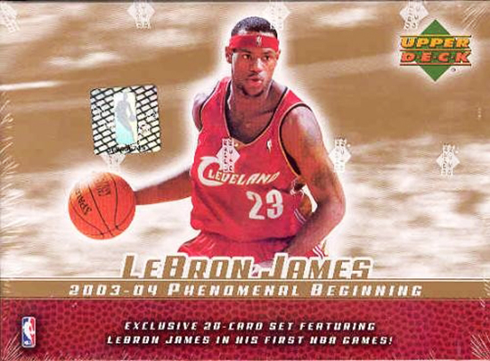 top-ten-best-03-04-lebron-james-king-chosen-one-rookie-autograph-cards-upper-deck-ud-phenomenal-beginning