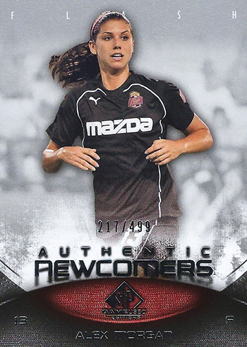 world-cup-upper-deck-rookie-sp-game-used-usa-womens-soccer-usa-rookie-card-alex-morgan
