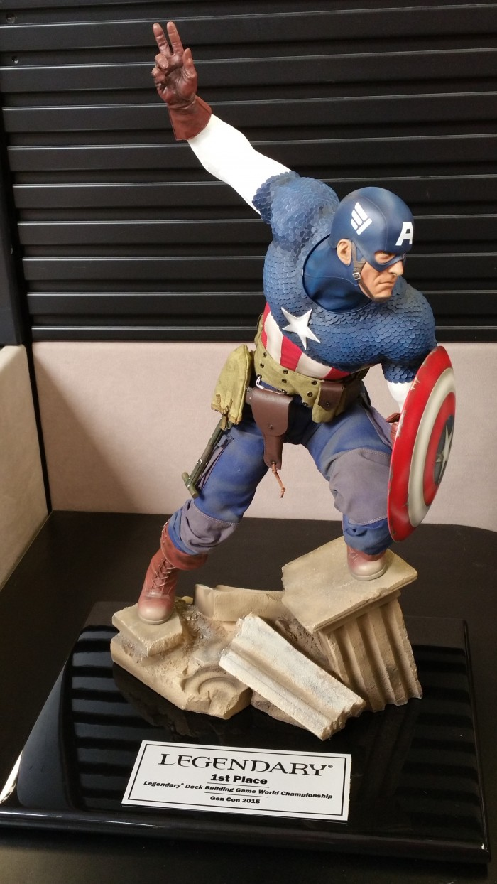 Captain America Trophy