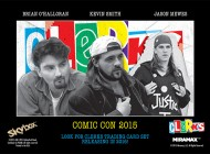 Brag Photo: Upper Deck Announces Clerks Trading Cards with Comic-Con Autograph Signing Featuring Kevin Smith, Jason Mews and Brian O'Halloran!