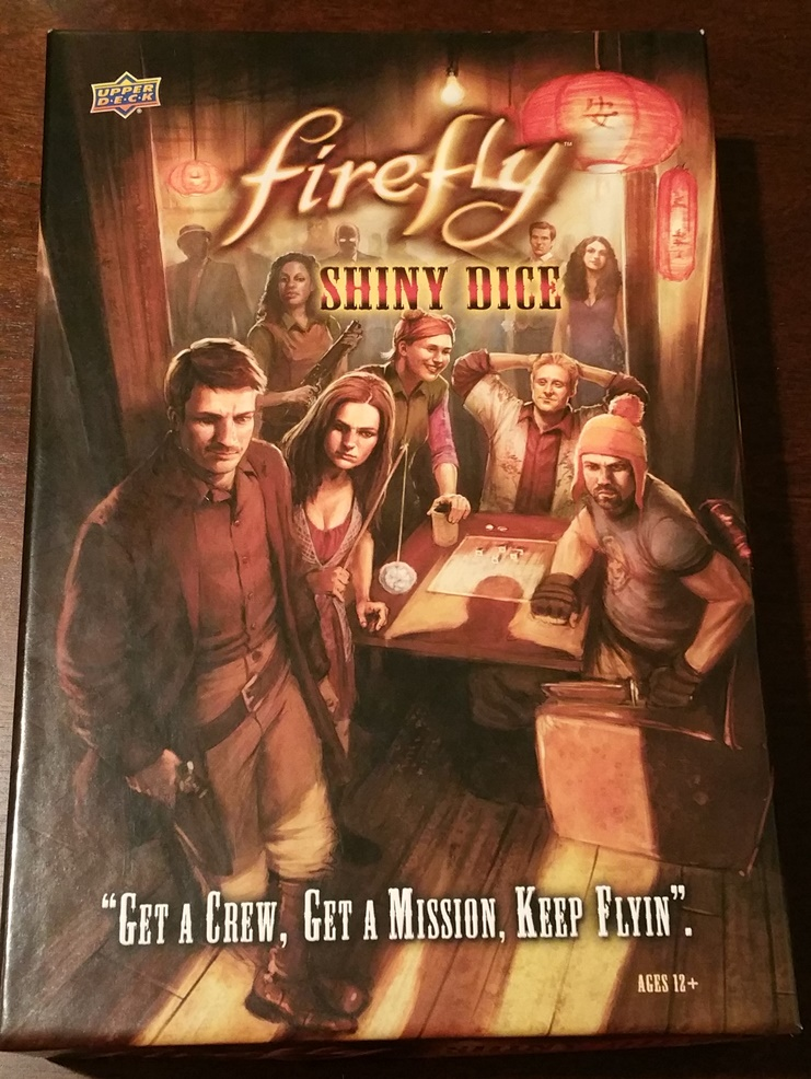 Firefly Shiny Dice -  Upper Deck