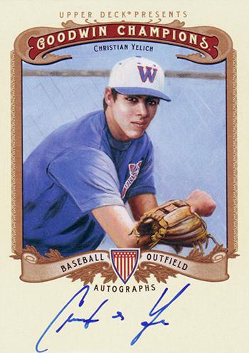 Goodwin-Champions-2012-Christian-Yelich-Autograph-Card-Baseball