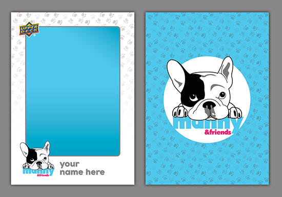 Manny-The-Frenchie-Upper-Deck-Personalized-Card-Photo-Opp
