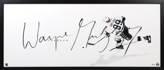 Upper-Deck-Authenticated-Wayne-Gretzky-Los-Angeles-Kings-The-Show-Autographed