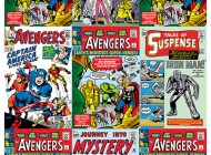 UD Gallery's Classic Avengers Comic Book Cover Art is a Must-Have for Avengers Fans and Collectors