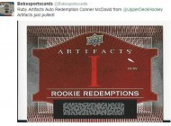 Information & Updates on 2015-16 Upper Deck NHL® Artifacts