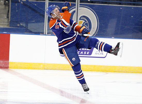 Celly-Celebration-Goal-Connor-McDavid-Edmonton-Oilers