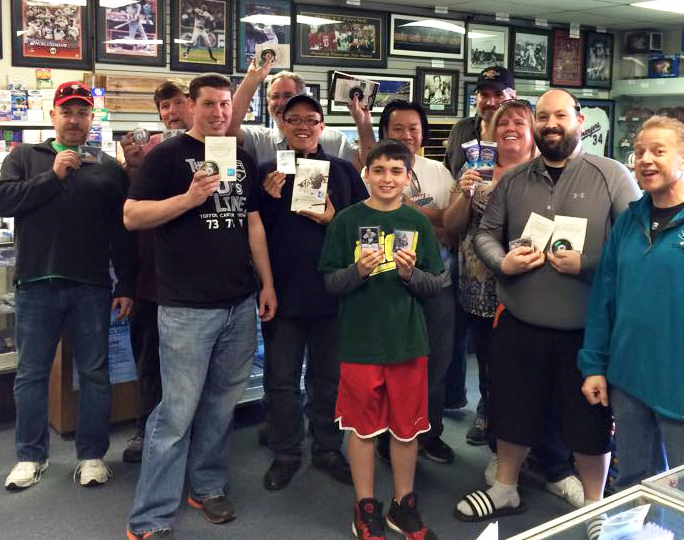 upper deck silver celebration party eastridge hobbies calgary ab