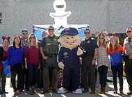Trick or Trade: Upper Deck Gives Back at Halloween to Local Law Enforcement Agencies in San Diego!