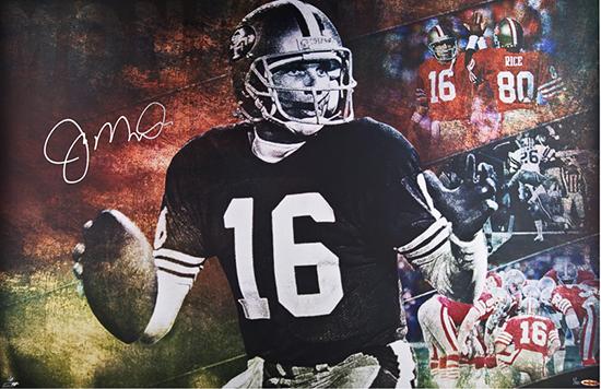 Joe Montana Autographed Cool Joe