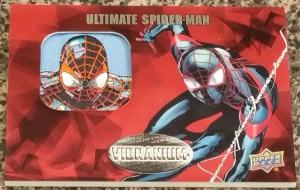 Vibranium - Ultimate Spider Man Patch Card