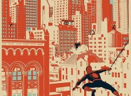 Spider-Man Vs. the Sinister City Limited Edition Art Print  Just Released from the UD Gallery!