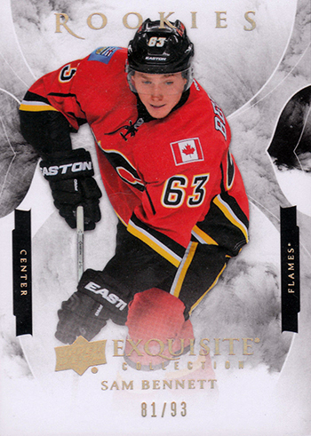 2015-16-Upper-Deck-NHL-Exquisite-Collection-Top-Best-Rookie-Card-Sam-Bennett