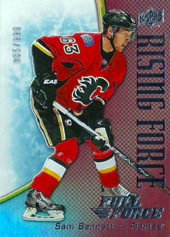 2015-16-Upper-Deck-NHL-Full-Force-Top-Best-Rookie-Card-Sam-Bennett