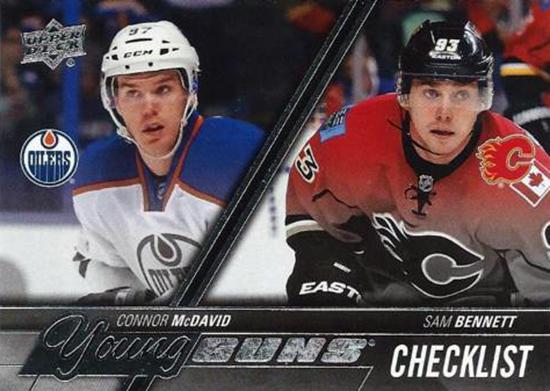 2015-16-Upper-Deck-NHL-Young-Guns-Top-Best-Rookie-Card-Sam-Bennett-Checklist