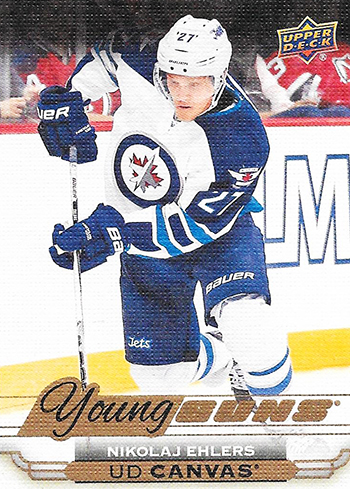 2015-16-Upper-Deck-Young-Guns-Canvas-Nikolaj-Ehlers-Rookie-Card
