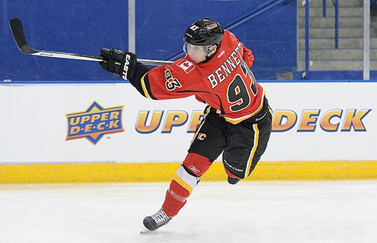 Sam Bennett Flames
