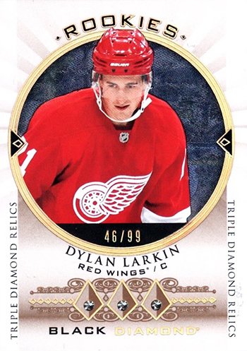 2015-16-NHL-Black-Diamond-Rookie-Triple-Relic-Card-Dylan-Larkin