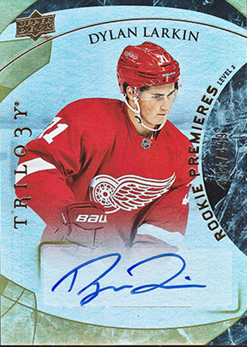2015-16-NHL-Upper-Deck-Trilogy-Autograph-Rookie-Dylan-Larkin