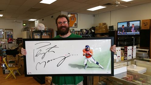 "Autographed Peyton Manning ""The Show"""
