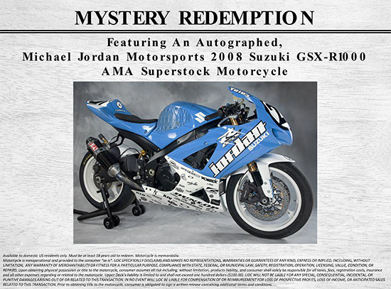 Upper-Deck-All-Time-Greats-Master-Collection-Mystery-Redemption-Motorcycle-Jordan-Racing
