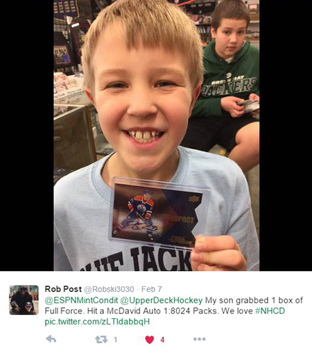 Upper-Deck-National-Hockey-Card-Day-Happy-Kid-Connor-Autograph