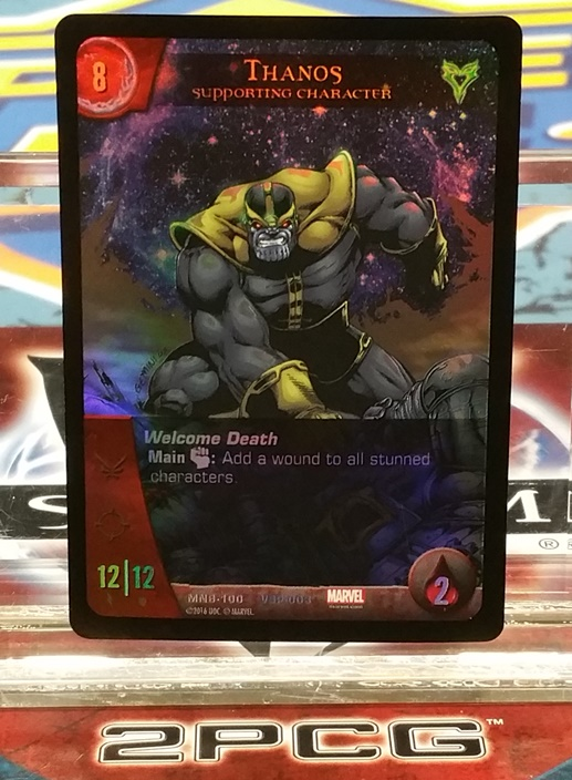 Vs Promo Thanos