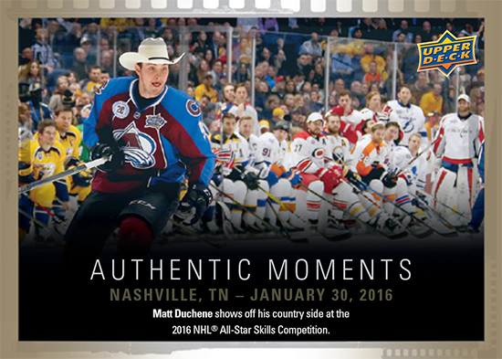 2016-Upper-Deck-Promotional-Set-April-All-Star-Skills-Matt-Duchene