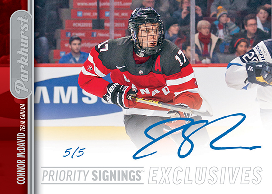 2016-Upper-Deck-Spring-Expo-Case-Breaker-Parkhurst-Priority-Signing-Connor-McDavid-Autograph-Card