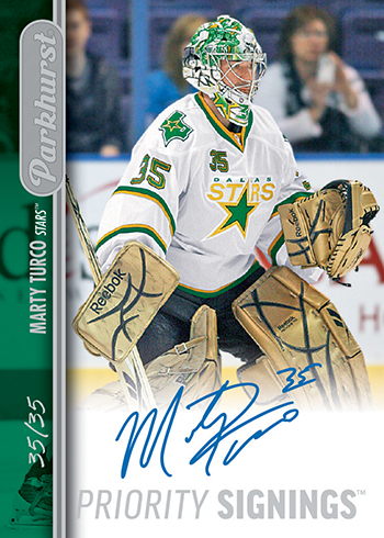 2016-Upper-Deck-Spring-Expo-Marty-Turco-Autograph-Card