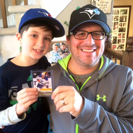 Collectors-Blog-Canadian-Dad-Chris-Read-Father-Son-Collect-Connor-McDavid-Young-Guns-Rookie-Share