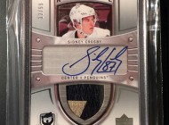 Pulling the Ultimate; Sidney Crosby's Upper Deck Autograph Patch Rookie Card from The Cup