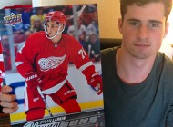Brag Photo: Cool Images from a Recent Signing Session with Detroit Red Wings Standout Rookie Dylan Larkin
