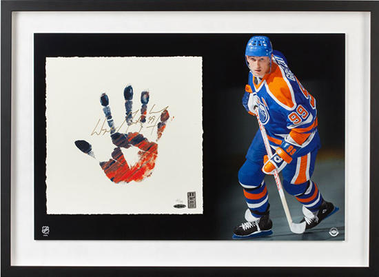 wayne-gretzky-signed-oilers-tegata-lithograph-83733