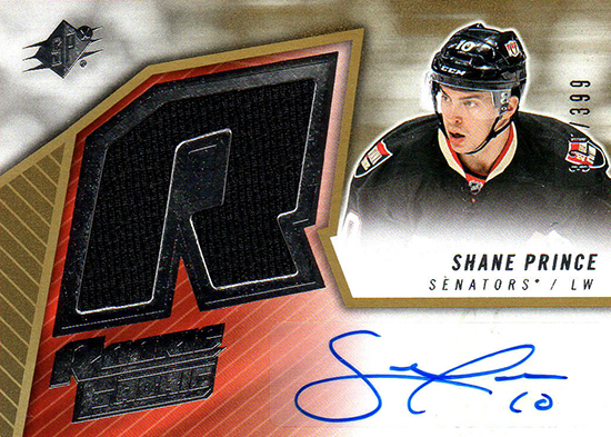 2015-16-NHL-Upper-Deck-Shane-Prince-Rookie-Card-SPx-Autograph-Jersey