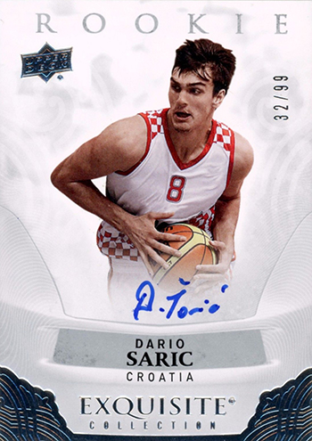 Upper-Deck-Euroleague-Autograph-Rookie-Dario-Saric-2013-14-Exquisite-Basketball