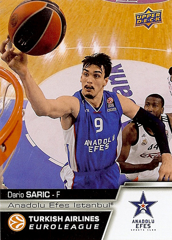 Upper-Deck-Euroleague-Autograph-Rookie-Dario-Saric-2015-16-Euroleague-Basketball