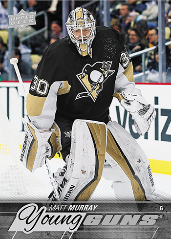 2015-16-NHL-Upper-Deck-Young-Guns-Update-Matt-Murray-Pittsburgh-Penguins-Rookie-Card