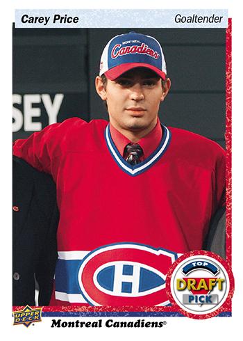 2016-Upper-Deck-NHL-Draft-Pick-Set-Carey-Price